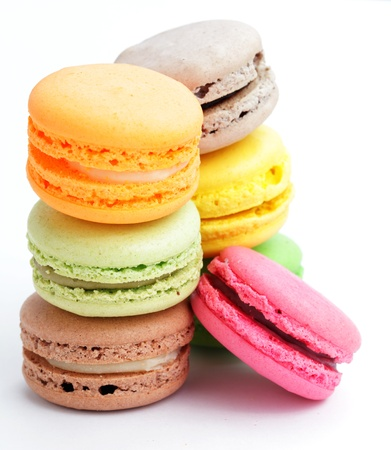 Colorful macaroons Stock Photo - 17432297