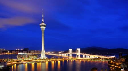 Macau at night Stock Photo - 17432306