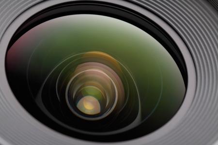 DSLR camera lens photo