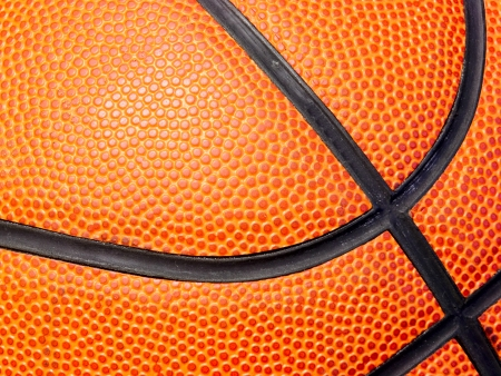 Basketball closeup photo