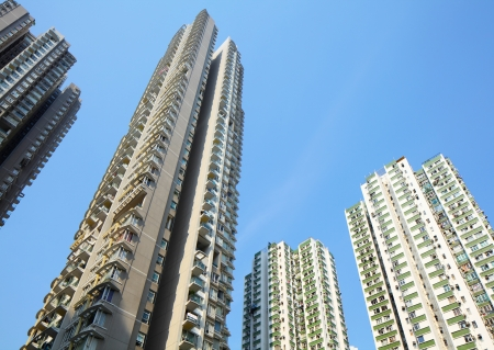 apartment block in Hong Kong Stock Photo - 19146594