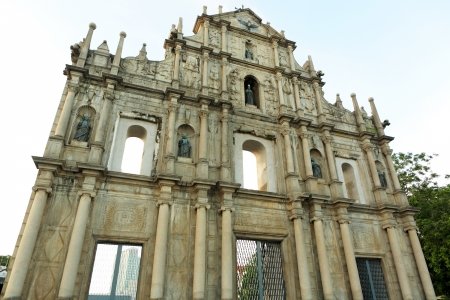 Ruins of St. Paul's in Macau Stock Photo - 19403482