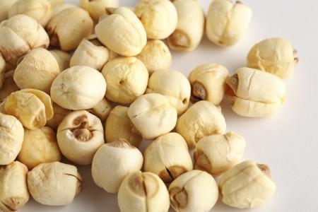 lotus seed: dry lotus seed