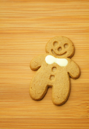 Gingerbread Man cookie for xmas photo