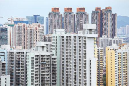 apartment block in Hong Kong Stock Photo - 19391268