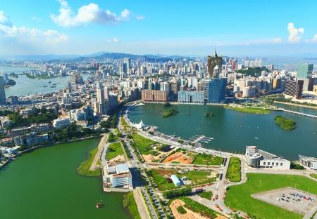 macau: Macau skyline