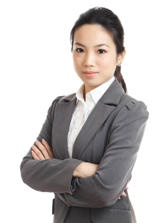 woman in suit: Asian business woman