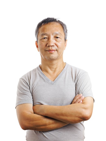 granddad: Asian mature man