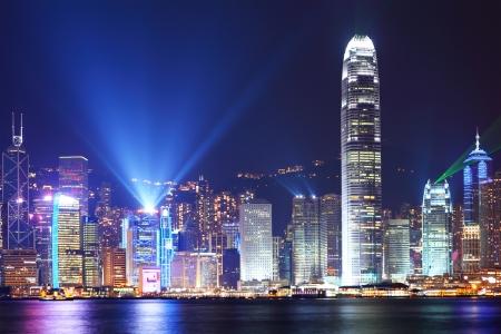 Symfonia światła w Hongkongu