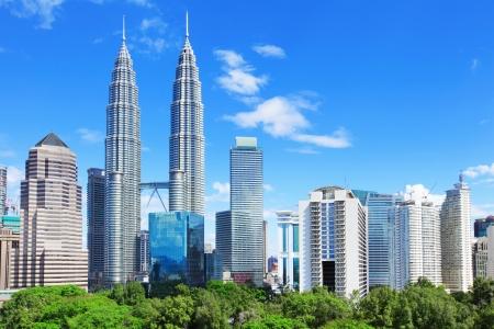 Kuala Lumpur skyline Reklamní fotografie
