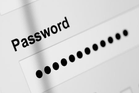 computer security: Password box