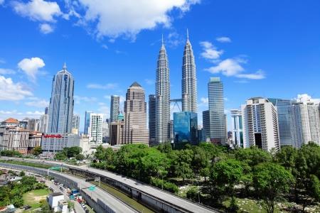 Kuala Lumpur skyline Stock fotó