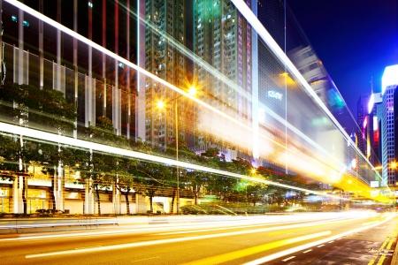 Night traffic in city Stock Photo - 20207396