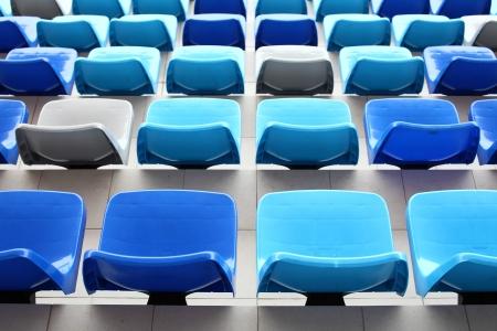 sports venue: Seats in stadium