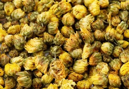 Dried chamomile tea photo