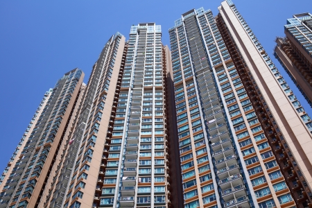 Residential building in Hong Kong Stock Photo - 20425054