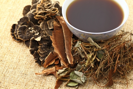 plant medicine: Chinese herbal medicine with ingredient