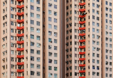 Apartment building in Hong Kong Stock Photo - 20435868