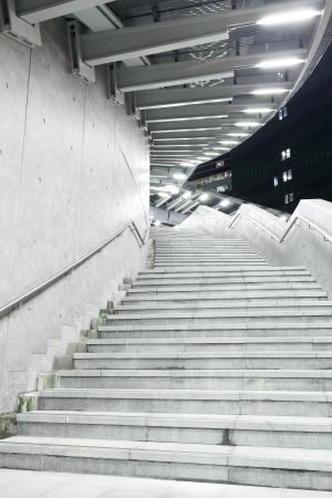 Concrete staircase photo
