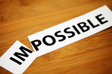 persevere: Impossible change to possible