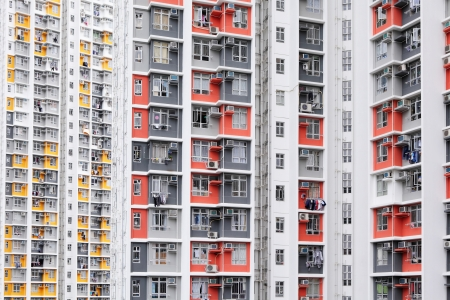 Housing in Hong Kong Stock Photo - 20558286