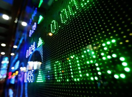 stock: Stock market price increase Stock Photo