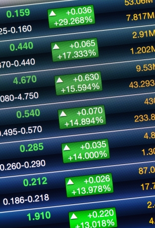 Increases of the stock market Stock Photo - 20847684
