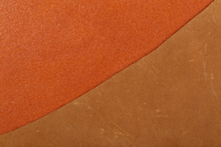 Two brown leather texture Stock Photo - 20868420