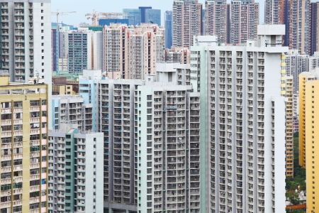 Public housing in Hong Kong photo