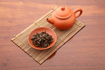 chinesisch essen: Chinesische Tee-Zeremonie Lizenzfreie Bilder