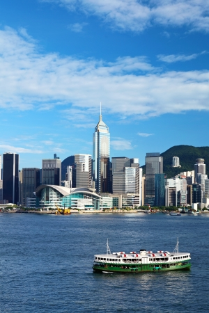 Hong Kong victoria harbour photo