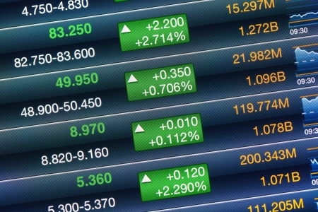 Increases of the stock market Stock Photo - 20999281