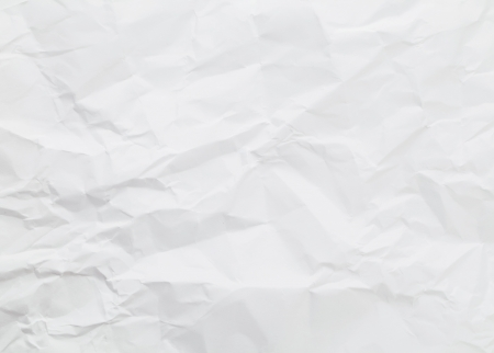 parch: White wrinkled paper background texture Stock Photo