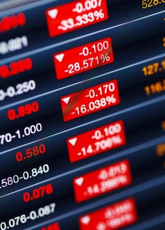 decreasing: Decreasing of stock market