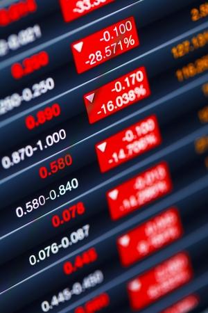 dramatically: Dramatically dropping of stock market