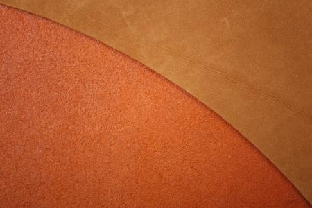 texture cuir marron: Deux texture de cuir brun