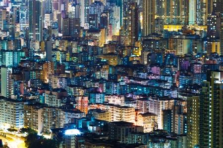 Hong Kong cityview at night Stock Photo - 21707465