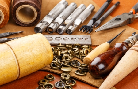 Craft tool for leather accessories photo