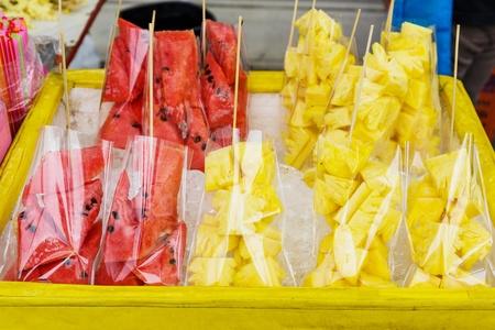 street market: Fruit in the street market