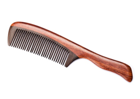 Wooden comb photo