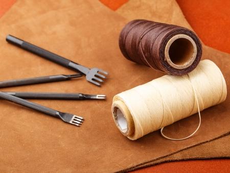 Leder Handwerk Werkzeug