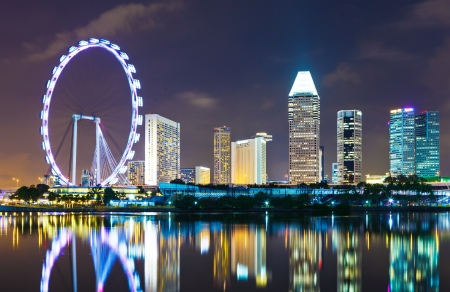 Singapore cityscape photo