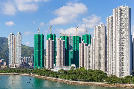 wan: Residential building in Hong Kong