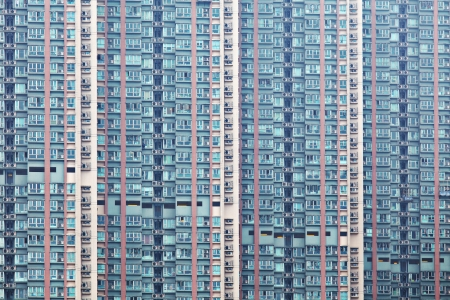 Hong Kong residential buildings Stock Photo - 22210576