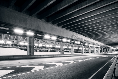 Empty tunnel photo