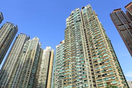 Hong Kong residential buildings Stock Photo - 22265466