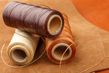 Thread for leather craft photo