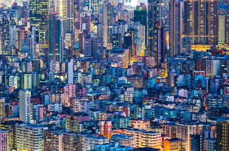 hong kong night: Cityscape in Hong Kong