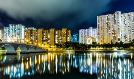 Public housing in Hong Kong Stock Photo - 22459598