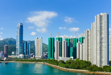 wan: Hong Kong skyline